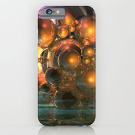 light and reflection iPhone Case