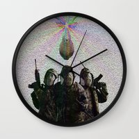 soldier Wall Clocks featuring Soldier by DDSS