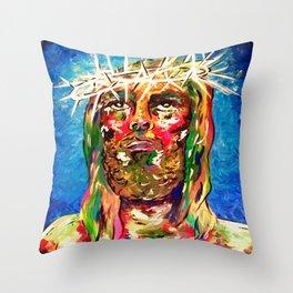 #Savior Throw Pillow