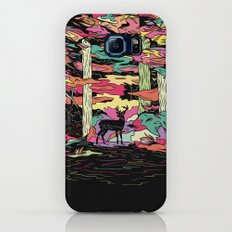 Weird Woods Slim Case Galaxy S7