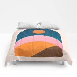 Abstraction_Sunshine_Minimalism_001 Comforters