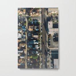 LA Aerial Metal Print