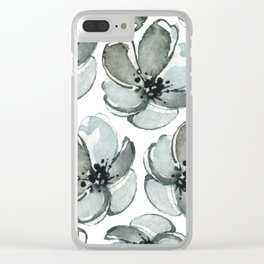Modern Marimekko Clear iPhone Case