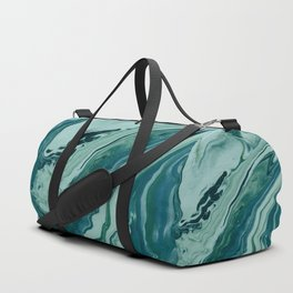 Blue Planet Marble Duffle Bag