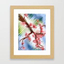 Spring's First Framed Art Print