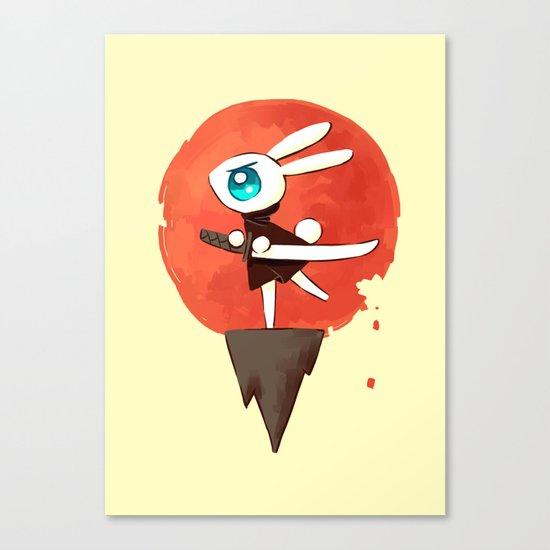 Samurai Bunny Canvas Print