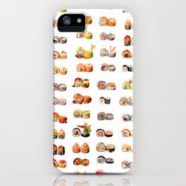 Sushi set iPhone Case