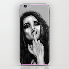 + The Bird is Back + iPhone & iPod Skin