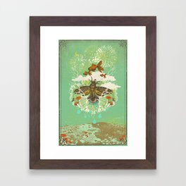 EVENING PSYCHEDELIA Framed Art Print
