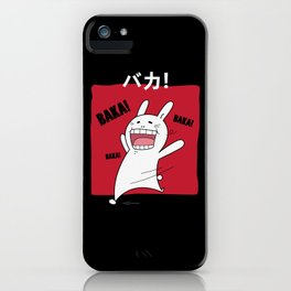 Baka Japanese Katakana iPhone Case