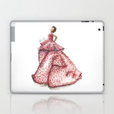 Slight Arc Watercolor Fashion Illustration Laptop & iPad Skin