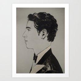 Grey Skies, Bow ties. Art Print