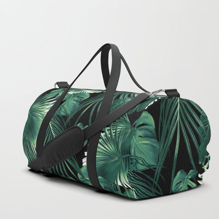 Tropical Jungle Leaves Dream #6 #tropical #decor #art #society6 Duffle Bag