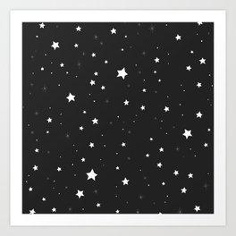STARS BYN Art Print