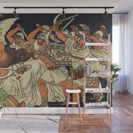 The Harpies Mythology Scene Wall Mural