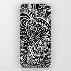 Rebirth Zentangle iPhone & iPod Skin