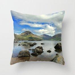 The Lake District Throw Pillow