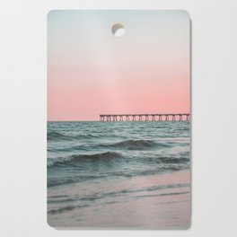 Pink Ocean Cutting Board