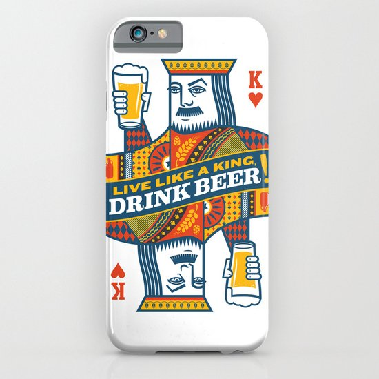 King of Beers iPhone & iPod Case
