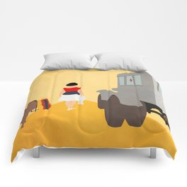 Kidnapping Caucasian Style Comforters