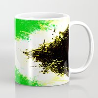 jamaica Mugs featuring Jamaica dream by seb mcnulty