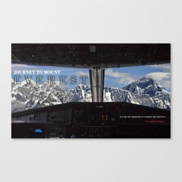 MOUNT EVEREST 001 Canvas Print