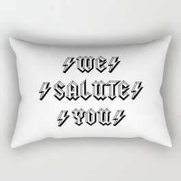 We Salute you | For Rock and Roll lovers | Australian Rock Rectangular Pillow