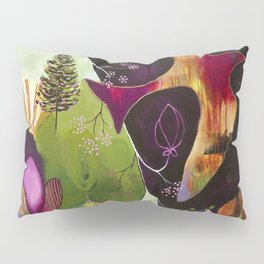"""Deep Peace"" Original Painting by Flora Bowley Pillow Sham"