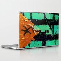 puerto rico Laptop & iPad Skins featuring Puerto Rico Flag by Fresh & Poppy