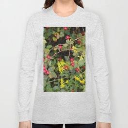 Flower and Berries Long Sleeve T-shirt