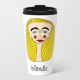 Blonde Travel Mug