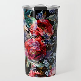 Botanic Pattern Travel Mug