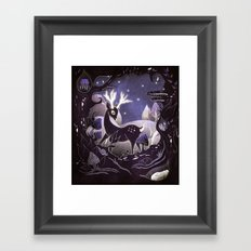 Protector of the Forest Framed Art Print