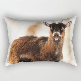 Baby goat 1 Rectangular Pillow