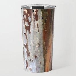Rustic light wood Travel Mug