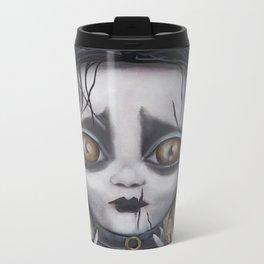 Edward Scissorhands Metal Travel Mug