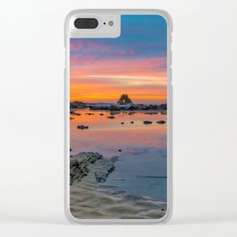 Tide Pool Reflections Clear iPhone Case