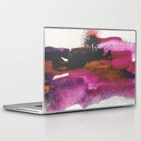 georgiana paraschiv Laptop & iPad Skins featuring Unravel by Georgiana Paraschiv