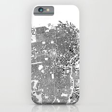 San Francisco Map Schwarzplan Only Buildings Slim Case iPhone 6s