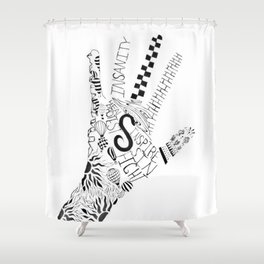 Daring to In Shower Curtain