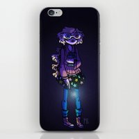 luna lovegood iPhone & iPod Skins featuring Luna Lovegood by Princesse Barbare