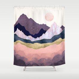 Mauve Mist Shower Curtain