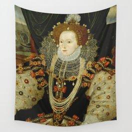 Portrait of Elizabeth I Wall Tapestry