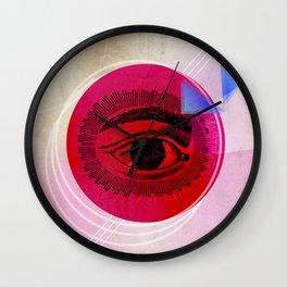 INK RETRO EYE Wall Clock