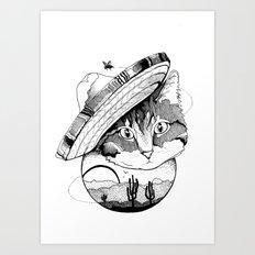 Desert Slave Art Print
