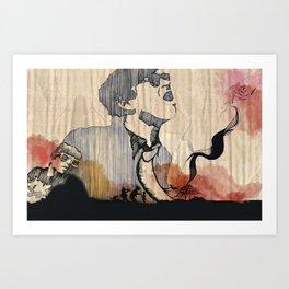 Ryan Adams Illustration Art Print