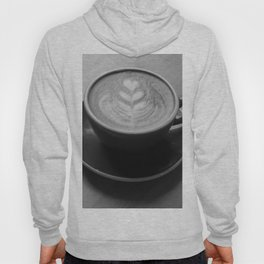 Cafe Heart - Black and White Hoody