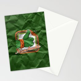 Nunchucks Stationery Cards