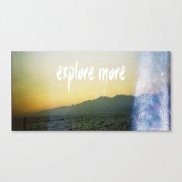 Explore more 2.0 Canvas Print