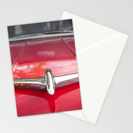Red Oldsmobile Stationery Cards